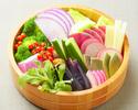 野菜の盛り合わせ(2名様用)