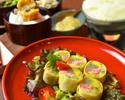 【神楽坂コース】おいしんぼ名物湯葉コロッケや生春巻きと共に季節の一品や旬魚造りを楽しめるおすすめコース 5000円