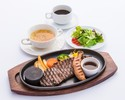 Casual dinner course [A great value course with bone-in sausages and steaks]