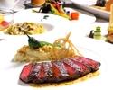 【魚・肉メイン料理含む旬の食材を使ったコース】5000円コース