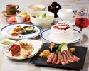 【アニバーサリーコース】A3ランク黒毛和牛ロース・ホールケーキ等全11品