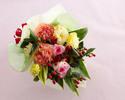 ★平日【オプション】季節の花束¥5,000(税抜)
