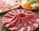 【厳選牛と豚】食べ・飲み放題コース4000円(税抜)