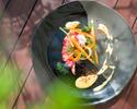 lunch:【当店一番人気ランチ】旬の野菜や魚を使用した人気ランチ全5皿 ¥4180