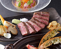 """Lunch and Dinner Course """"SAGA""""  ~Seasonal Recommendation of the Chef~"""