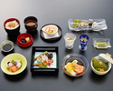 Mini Kaiseki Lunch  (from 11 o'clock to 14:30)
