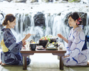 【Women】 Irodori Kaiseki and Yukata Stroll Plan (Coloring Party Session)