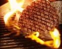 【ランチコース】熟成肉グリル2種(サーロイン・豚)コース