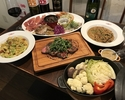 【2時間制】 トラットリア料理満喫 飲放付コース
