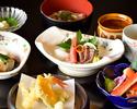 【ディナータイム】彩り豊かな季節の食材を楽しむ全9品のスタンダードプラン《彩コース》