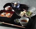 揚げ茄子素麺と海鮮ばらちらし【夏季平日限定】
