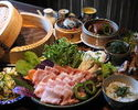 【2H All you can drink 】Okinawa cuisine and Yanbaru Island Agu steaming course
