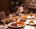 ステーキ食べ比べ堪能コース  FREE DRINK付き