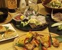【ご宴会にオススメ】旬食材でおもてなし3時間!コース料理6品+飲み放題付3000円コース
