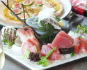【【毎日使える】お料理6品+飲み放題3時間宴会コース お一人様3500円