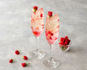 [Special offer for Online Booking] AFTERNOON TEA with glass of ROSE cocktail