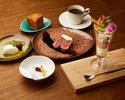 【グリルランチ】選べる薪焼き料理!季節野菜の前菜を含む全4品