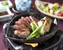 Beef sirloin steak set  (80 g)