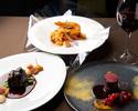 【Dinner】Prefix 3 plates  6,050 yen(メニューより3品お選び下さい。)