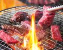 (3人〜)【高级烤肉所有你可以吃82种满意的满意+都可以喝95】
