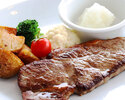 "[Lunch] Monthly Lunch Set ""Pier:Sirloin steak"""