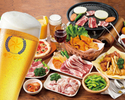【夜】120分食べ飲み放題・プレミアムプラン(未就学児)
