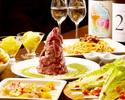 【一番人気】肉のヒマラヤ&定番メニュー盛りだくさん!日本酒唎酒し放題付き!