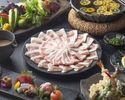 【Special online deal】Agu Pork Shabu-Shabu Course