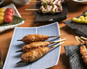 ※カウンター席限定※焼き鳥7種や農家様直送の季節の野菜焼き、名物白い唐揚げなど入った宮川フルコース