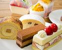 【水・木曜日限定】レディースケーキセット