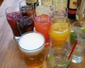 早割シュラスコディナー+飲み放題ブラジリアンコース¥6500(税別)