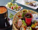 SAHARIミニ懐石!人気のイクラの釜炊き御飯&デザート付