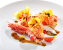 Seasonal chef recommended lunch course