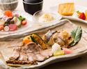 (新)リニューアルオープン10周年お昼の炙り焼きコース¥4,750相当→謝恩価格¥3,750