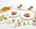 【12月】山形県産米沢牛と三浦産有機野菜の極上ステーキコース(3時間飲み放題なし)
