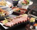 日本海の幸とお肉を楽しむよくばりオールコミコミコース7000円