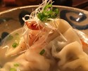 【2H All you can drink 】Dim Sum ands Shimaku-ru Pork steaming course【10ppl~】