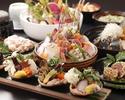 初夏の日本海の幸を楽しむオールコミコミコース 6000円