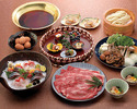すき焼きのお鍋(6,500円)+飲み放題 8,000円