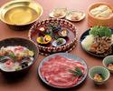 しゃぶしゃぶのお鍋+飲み放題(8000円)