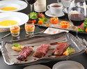 【ディナー】ペアディナーステーキアップグレードコース 2名で14,000円