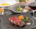 A5 grade Kobe beef loin steak dinner course