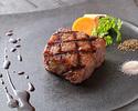 A5级日本黑牛肉沙朗牛排午餐套餐