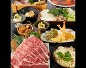 特選黒毛和牛の出汁しゃぶコース 5500円(全9品)