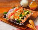 【カジュアルランチプラン¥2000】前菜からデザートまで、お好きなメインが選べる!カフェ付きプラン