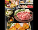 特選黒毛和牛のすき焼きコース 7000円(全7品)