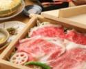 【忘年会や宴会に!】90分飲み放題付き!松阪牛・黒豚・合鴨3種の蒸ししゃぶコース