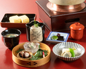 [Lunch only] Higashiyama Light course 6,600JPY (Limited to 2 groups a day)