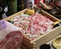 ◎松坂牛・黒豚・合鴨 3種肉の蒸ししゃぶコース