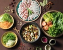 """ディナー """"Nabe"""" 〜漢方三元豚と厳選野菜の薬膳ブイヨン鍋コース〜"""